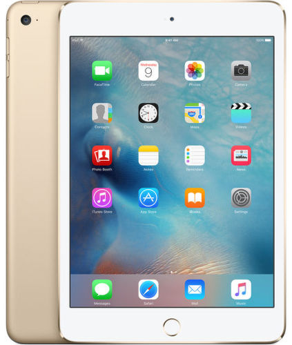 Apple iPad mini 4 Wi-Fi 16GB, Gold MK6L2FD/A