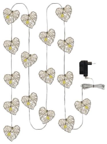 EMOS 16 LED XMAS HEART 3M IP20 WW_03