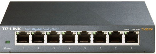 TP-Link TL-SG108E, 8-port 1Gb - switch_3