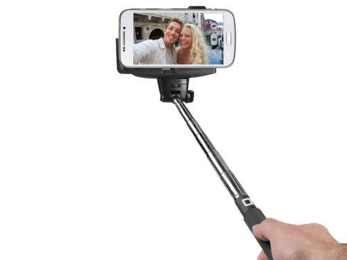 SBS bluetooth selfie tyč (čierna)