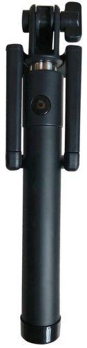 Winner selfie tyč s Bluetooth tlačítkom, čierna