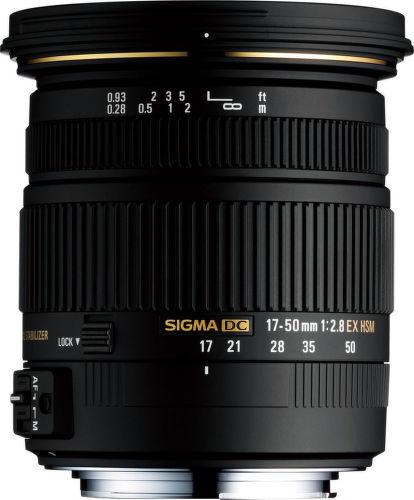 SIGMA 17-50/2.8 EX DC OS HSM Canon