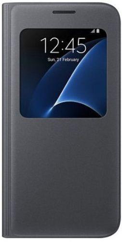 Samsung S View EF-CG930PB SG S7 (čierne)