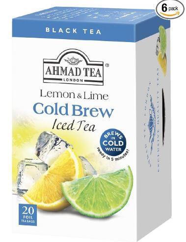 AHMAD Ľadový čaj citrón & limetka