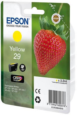 EPSON 29 Claria Yellow, Atramentová nápl
