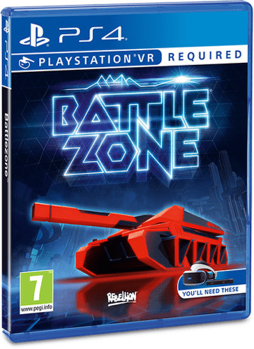 SONY VR Battlezone, PS4 hra