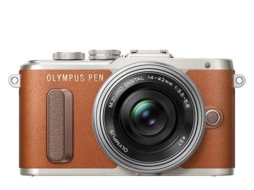 OLYMPUS E-PL8 1442 BRO/SIL, Digit. kompa