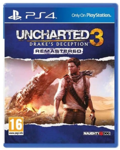 Sony Uncharted 3 - PS4 hra