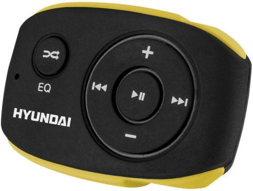 Hyundai MP 312 4GB - MP3 prehrávač (čierno-žltý)