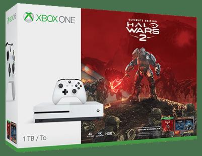 Microsoft Xbox One S 1 TB+Halo Wars 2 Ultimate Edition
