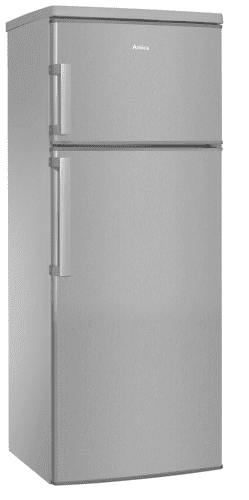 Amica KGC 15446 E nerezová kombinovaná chladnička