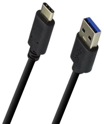 Mobilnet Dátový kábel Type C 1m (čierny)