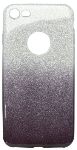 Mobilnet Gumené puzdro iPhone 7 (trblietavé fialové)