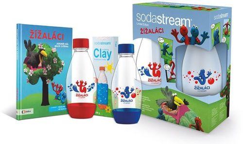 SodaStream Žížaláci Sada pre deti 2 fľaše+darčeky