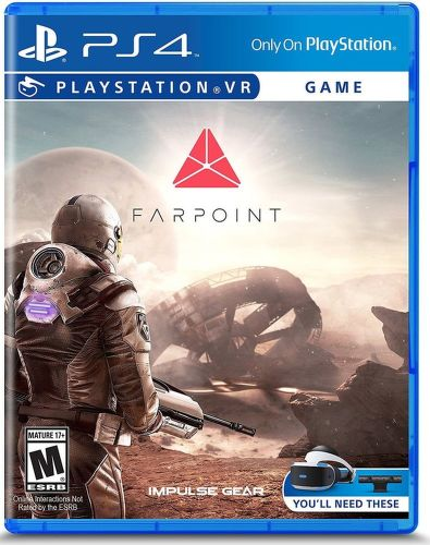 SONY VR Farpoint, PS4 hra