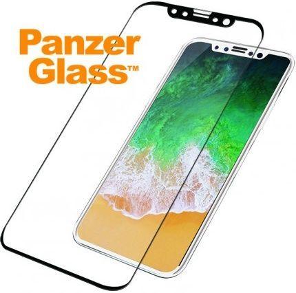 PanzerGlass ochranné sklo pre iPhone X/Xs, čierna