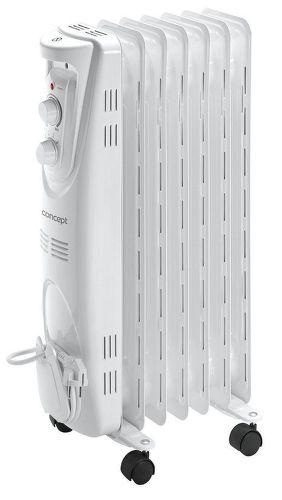 CONCEPT RO3207, biely olejový radiátor
