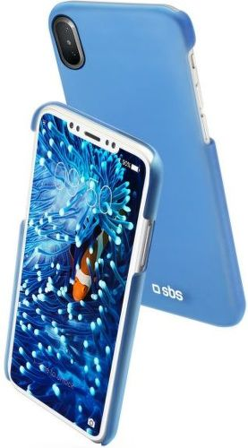 SBS Color Feel puzdro pre Apple iPhone X a Xs, modrá