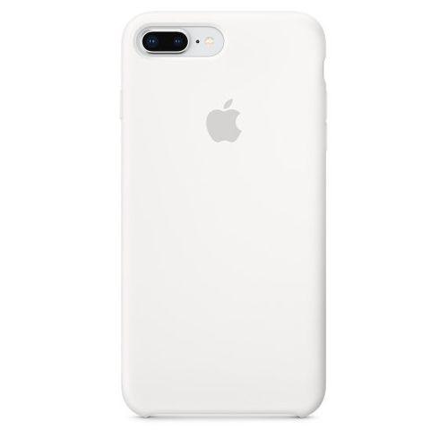 APPLE Silicone Case pre iPhone 8+/7+, biela_1