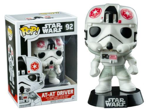 Vinylová figúrka - AT-AT Driver - Star Wars - kývajúca hlava