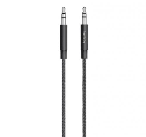 Belkin MiXiT Metallic AUX kábel 1,2m čierny