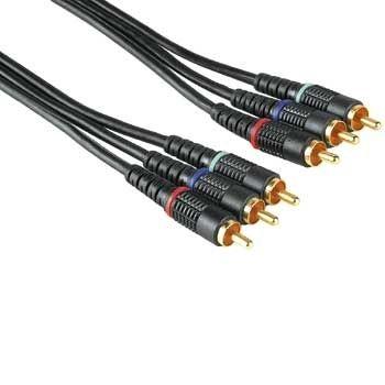 48630 Kábel Techline YUV -YUV 15m, pozlátený