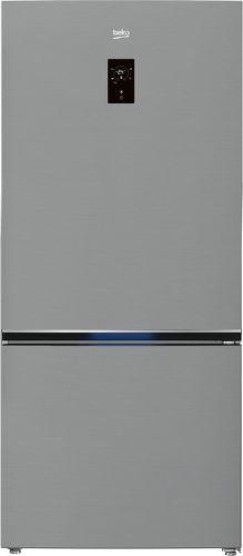 Beko RCNE720E3VZP, nerezová kombinovaná chladnička