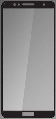 QSKLO 2,5D ochranné sklo pre Honor 7A, čierna