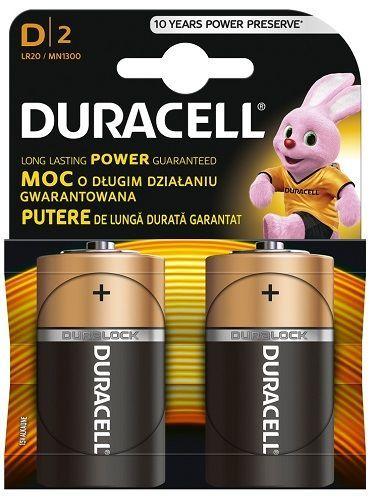 Duracell Basic 1300 K2 R20/2