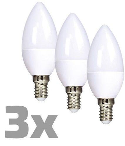SOLIGHT WZ431-3ks 6W E14, LED žiarovka