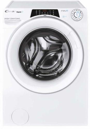 CANDY RO 1284DXH5/1-S, biela smart práčka plnená spredu