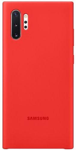 Samsung silikónové puzdro pre Samsung Galaxy Note10+, červená