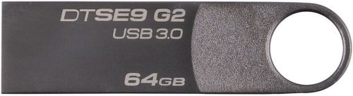 Kingston DataTraveler SE9 G2 Premium 64GB sivý