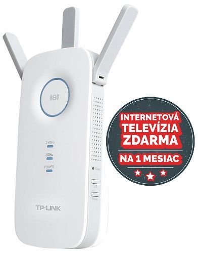 TP-Link RE450, AC1750 Dual-Band - WiFi extender