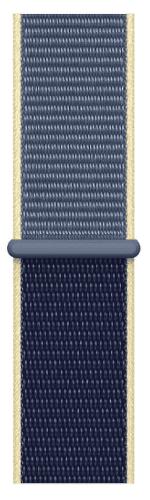 Apple Watch 40 mm športový prevliekací remienok, seversky modrý