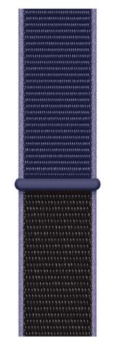 Apple Watch 44 mm športový prevliekací remienok, polnočne modrý
