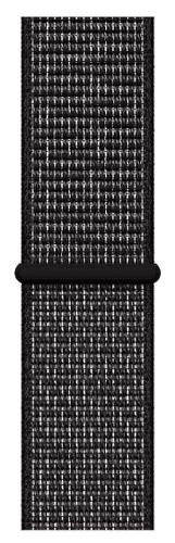 Apple Watch 40 mm Nike športový prevliekací remienok, čierny