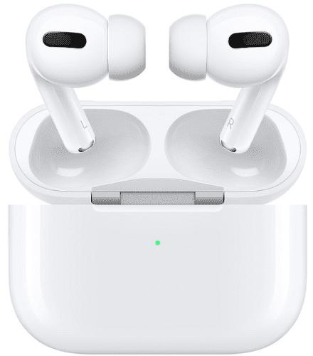 Apple AirPods Pro biele slúchadlá s nabíjacím puzdrom