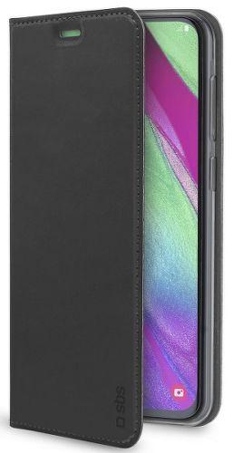 SBS Lite knižkové puzdro pre Samsung Galaxy A40, čierna