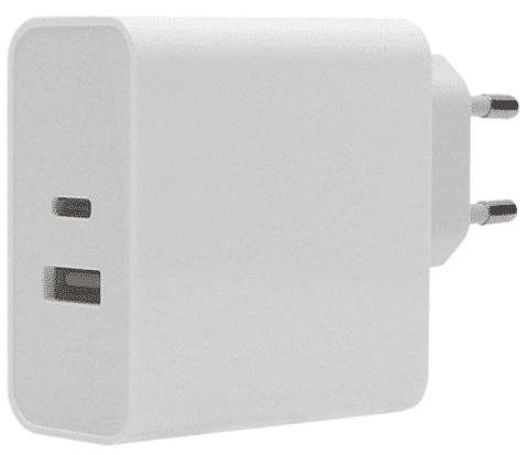 Winner USB-C/USB-A nabíjačka PD 3.0 63 W, biela