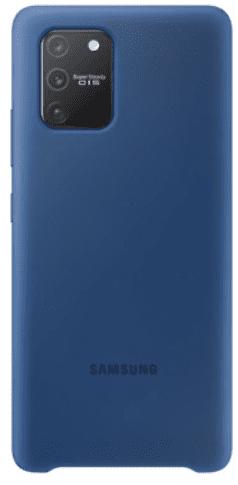 Samsung silikónové puzdro pre Samsung Galaxy S10 Lite, modrá