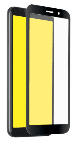 SBS Full Cover tvrdené sklo pre Motorola Moto E6 Play, čierna
