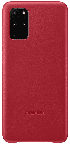 Samsung Leather Cover pre Samsung Galaxy S20+, červená