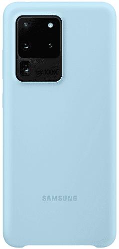 Samsung Silicone Cover pre Samsung Galaxy S20 Ultra, modrá