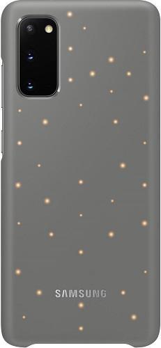 Samsung LED Cover puzdro pre Samsung Galaxy S20, sivá
