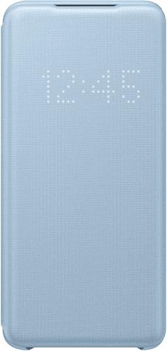 Samsung LED View Cover puzdro pre Samsung Galaxy S20, modrá