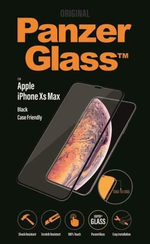 PanzerGlass ochranné sklo pre Apple iPhone Xs Max, čierna