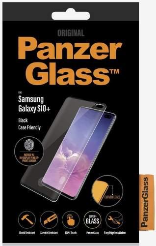 PanzerGlass Case Friendly tvrdené sklo pre Samsung Galaxy S10+, čierna