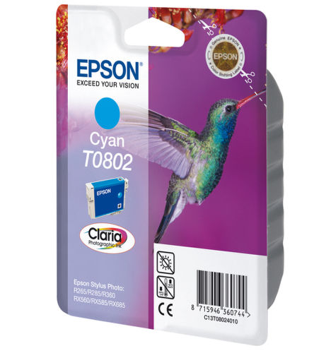 EPSON CT080240 cyan, náplň