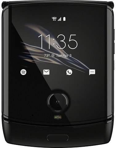 Motorola Razr čierny
